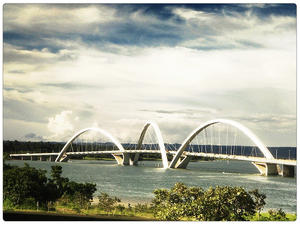 JK Bridge in Brasília